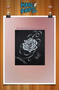 Black-rose-frame