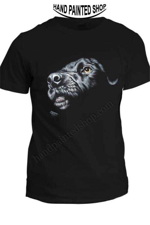 T-Shirt Painted Dog
