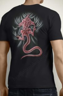 T-Shirts Painted Dragon