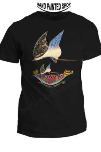T-Shirts Painted Eagle Ray