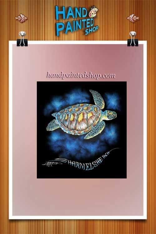 painted Green Turtle