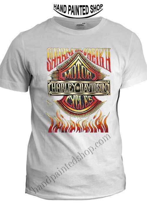 c5d314ce Harley-Cycles-T-Shirt - Hand painted t shirts - design your t shirt