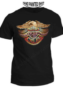 T-Shirt Harley-Davidson With Eagle
