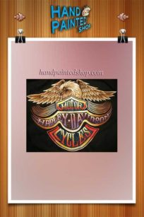 Harley-Davidson With Eagle