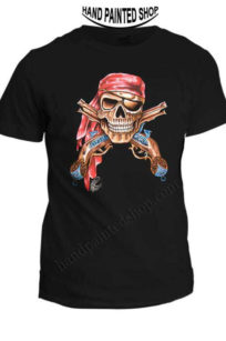 SKULL T-SHIRTS PIRATES