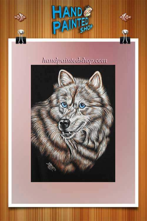 painted wolf