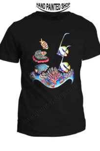 T-Shirt Red Sea Fish
