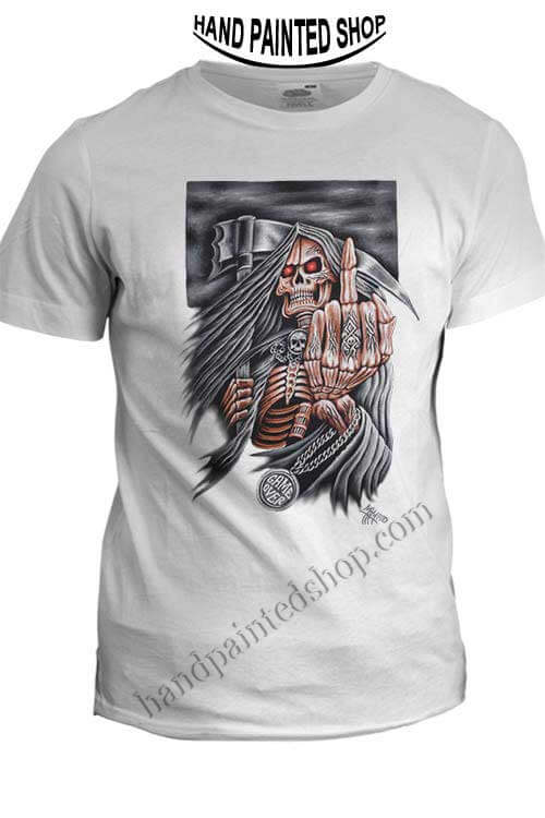 Skull Game Over t shirts
