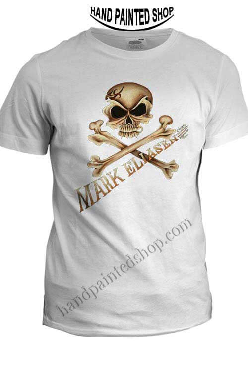 Skull and crossbones t shirts