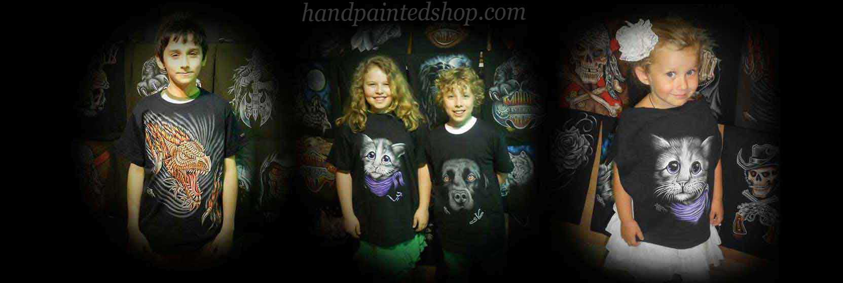 cool t shirts for our kids customers