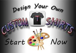 studio design t-shirts painted